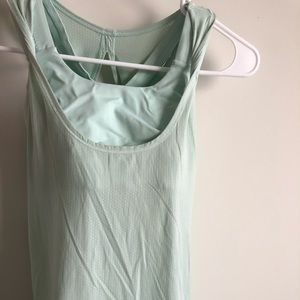 Lululemon backless top with attached bra